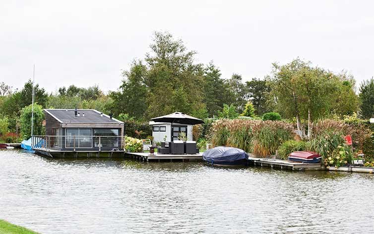 Waterchalet kopen Zaanstreek, regio Amsterdam